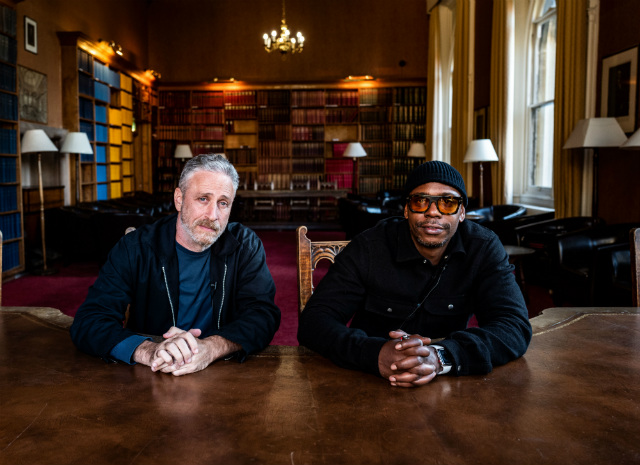 Jon Stewart & Dave Chappelle Talk Trump's War On Media, Sexism, Louis C.K.'s Comeback & More