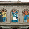 Why Is BAM's Exterior Now Pimped Out With Apple Logos?