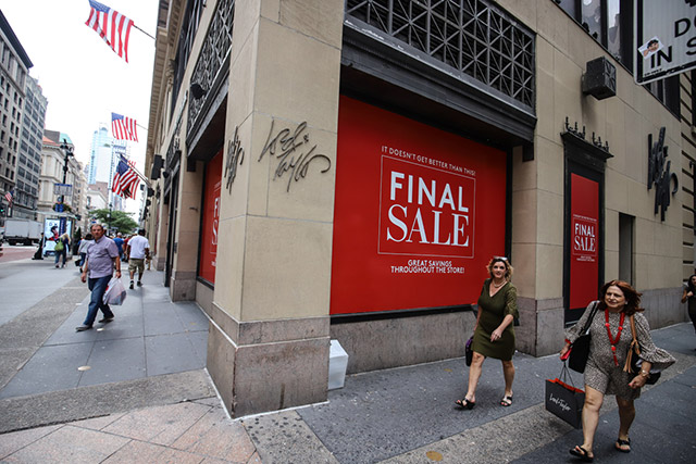 Photos: Lord & Taylor's NYC Flagship Has One Last Sale Before Closing