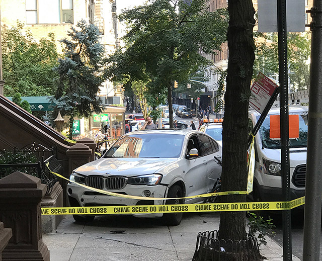 Brooklyn Crash Turns Into Dramatic Gunpoint Kidnapping On Upper West Side