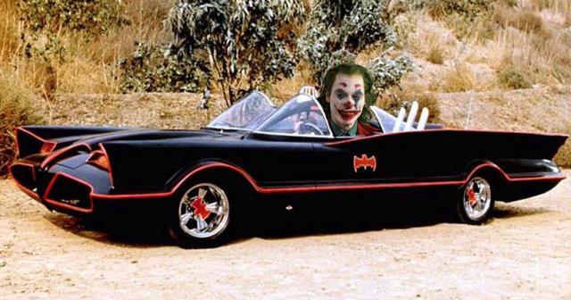 The Original '60s Batmobile Spotted On The Set Of Joker Movie