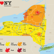 Here's How Your NY Fall Foliage Map Is Made