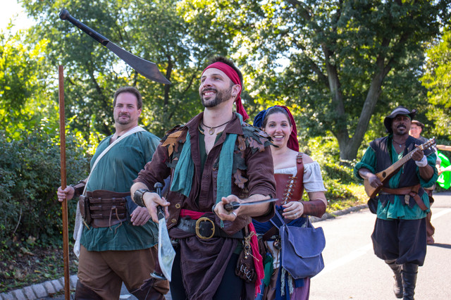 Photos: See Fort Tryon Park Transformed Into A Medieval Village