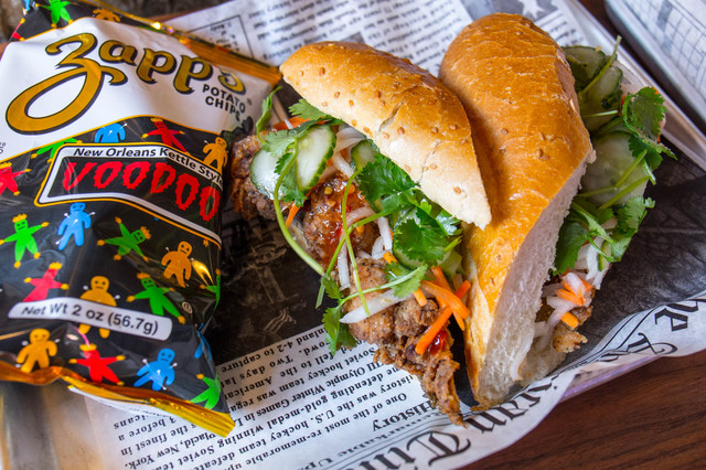 Charming New Sandwich Spot In Bed Stuy Slinging Both Po' Boys And Banh Mi