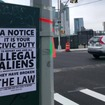 Anti-Immigrant Signs Appear In Sunnyside, Linked To National Neo-Nazi Group