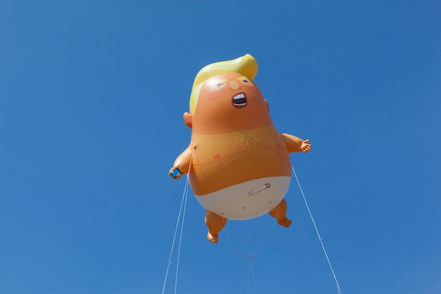 Giant Baby Trump Balloon Coming To NYC For 'Impeachment Parade'