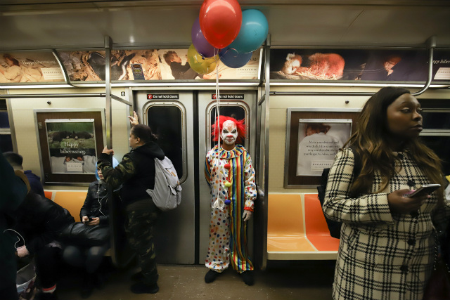 Photos: The Best Halloween Costumes On The NYC Subway (Round 1)