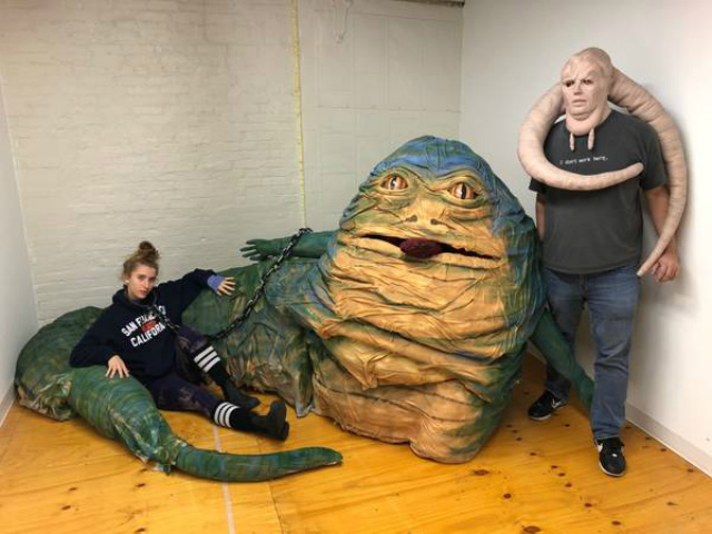 Steal Of The Day: This Life-Size Jabba The Hut Is Up For Grabs In Brooklyn