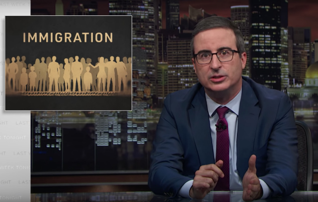 Video: John Oliver Disgusted By Trump's 'Cruel, Sloppy, Needless, Racist' Family Separation Policy