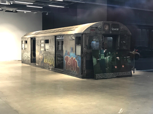 This Old Subway Car Living Inside An Empty Midtown Storefront Was Found In The Mojave Desert