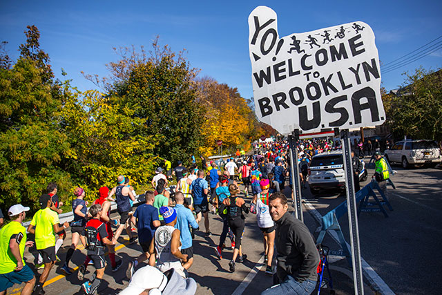 Photos: Glorious Day For 50,000 Runners In 2018 NYC Marathon
