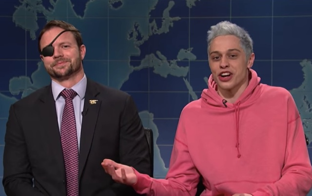 SNL Video: Pete Davidson Apologizes To Republican Dan Crenshaw, Who Gets His Turn To Mock Davidson