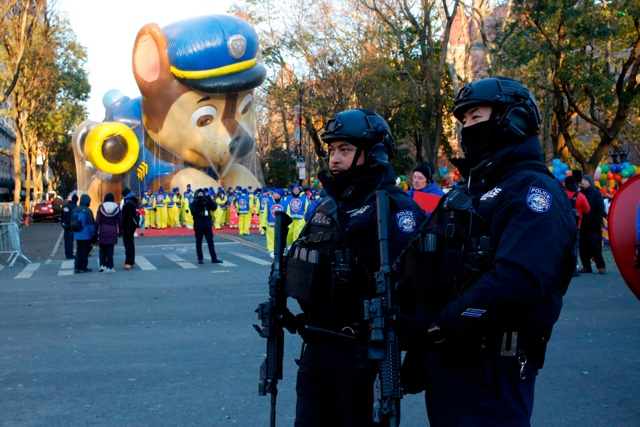 Time To Fly: NYPD Says Macy's Thanksgiving Day Parade Balloons Are 'A Go'
