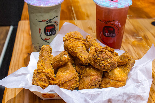 Cheese Tea And Taiwanese Fried Chicken, Together At Last