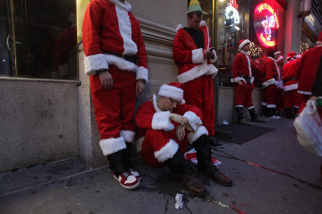 SantaCon's Annual Gathering Of Sauced Santas Scheduled For December 8th