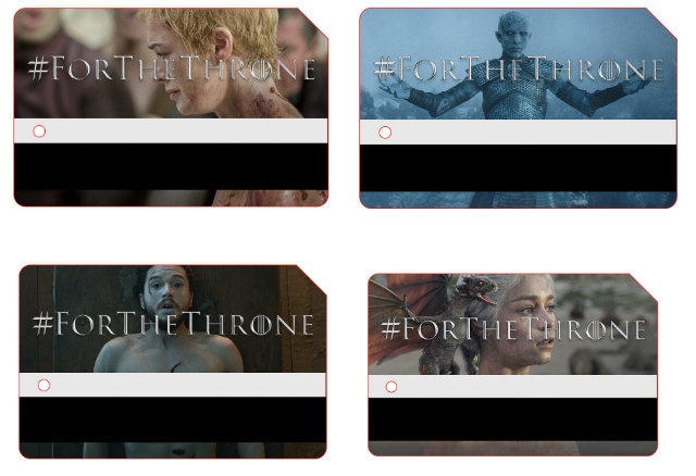 Limited Edition 'Game Of Thrones' MetroCards Available At Grand Central Starting Tuesday