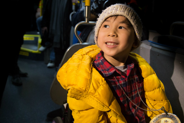 Video: Adorable 6-Year-Old Transit Fan Gets Special MTA Tour From Andy Byford