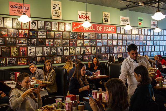 Photos: Inside 1958-Styled 'Marvelous Mrs. Maisel' Carnegie Deli, Now Open In SoHo