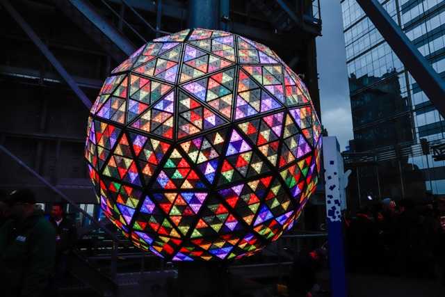 The Times Square New Year's Eve Ball Is READY For 2019