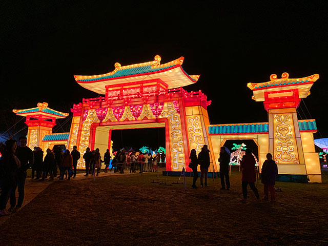 Photos: Snug Harbor Winter Lantern Festival Is A Psychedelic Wonderland