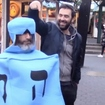 Hanukkah Challenge: Watch This Spinning Human Subway Dreidel Without Hurling