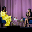 Finally 'Meeting' Michelle Obama At Barclays Center