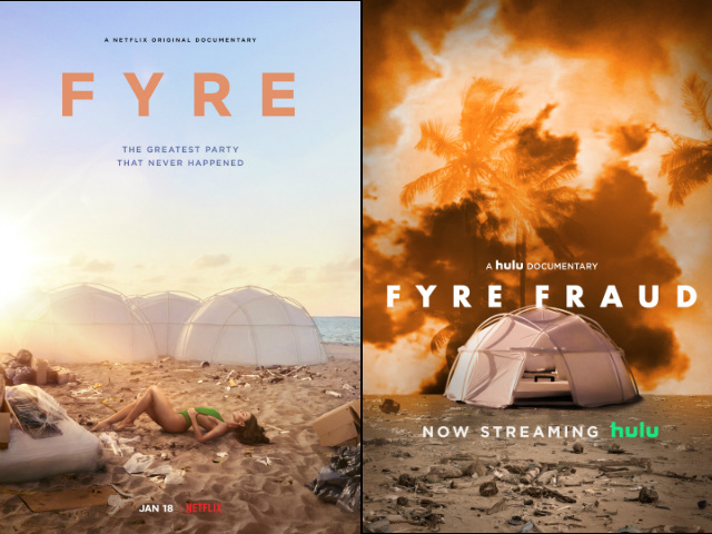 Netflix & Hulu Fyre Fest Docs Are Throwing Shade At Each Other's Ethics
