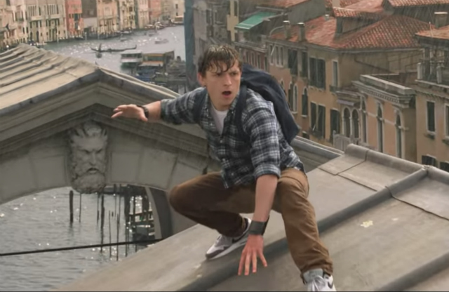 Spider-Man (Not Dust, Not The Cartoon) Goes On A European Vacation In 'Spider-Man: Far From Home' Trailer