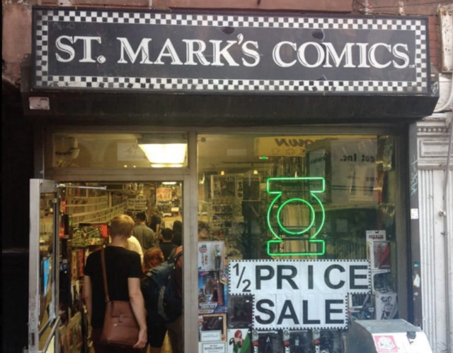 St. Mark's Comics Will Close Up Shop After 36 Years In East Village