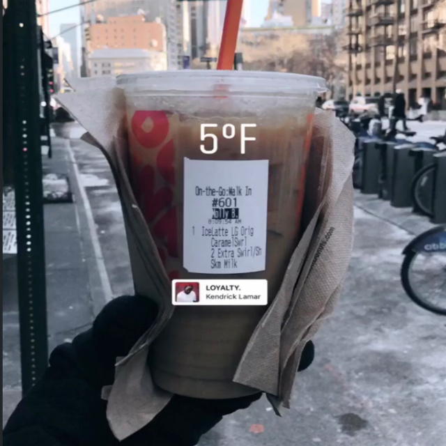 WTF Is Up With People Drinking Iced Coffee In Freezing Weather?