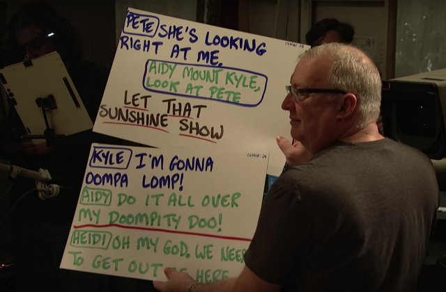 Watch A Fascinating Behind-The-Scenes Video About Creating SNL's Cue Cards