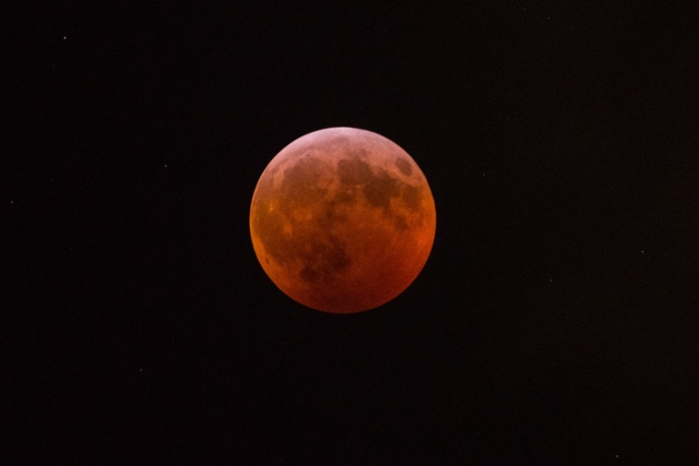 Photos, Video: Super Blood Wolf Moon Eclipse Was Super Awesome