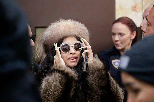 Cardi B Makes Another Appearance In Queens Criminal Court