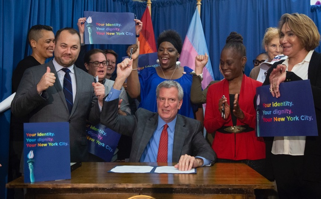 NYC Officially Starts Offering Non-Binary Gender Option On Birth Certificates