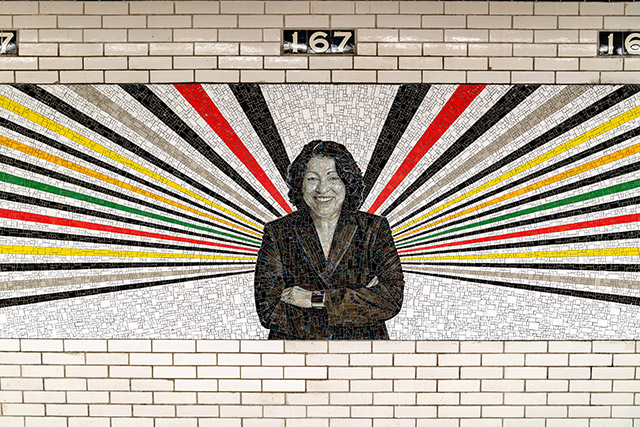 Photos: Gorgeous New Murals At Reopened 167th Street Station Celebrate Bronx Icons