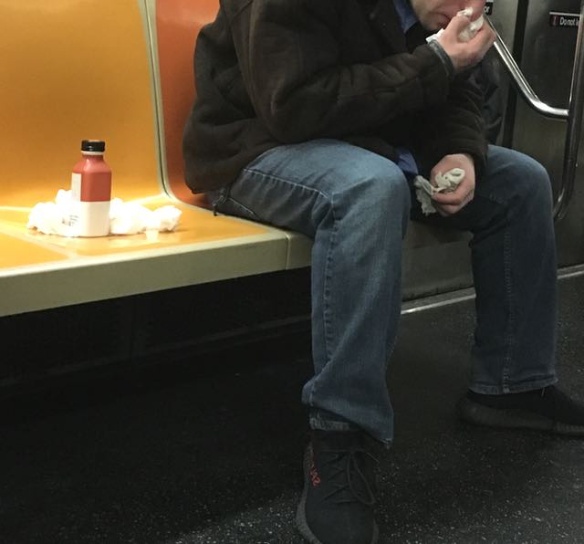 Subway Etiquette: Oh God