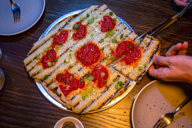 Grilled 'Rhode Island-Style' Pizza From The Emmy Squared Crew, Now In East Village