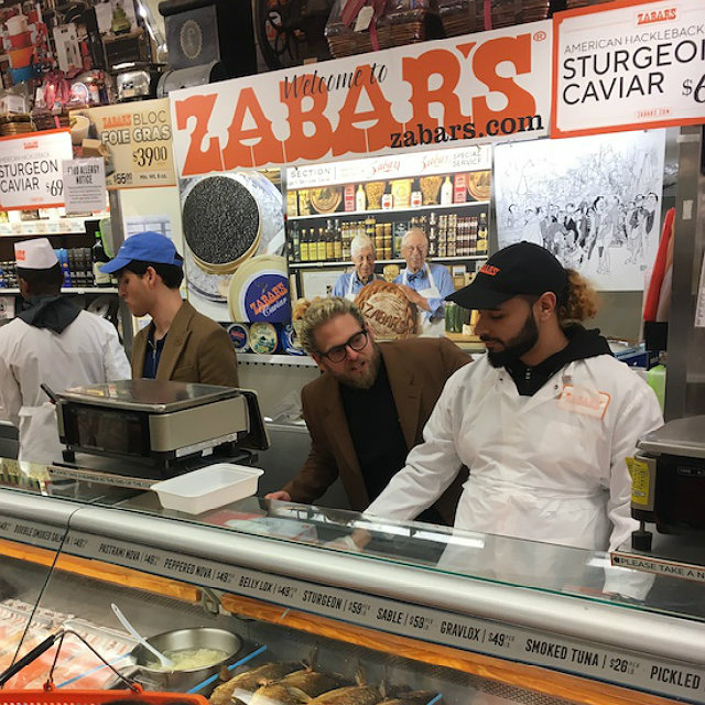 Shoppers Kvetch While Jonah Hill Directs Vampire Weekend Music Video At Zabar's In Peak Upper West Side Moment