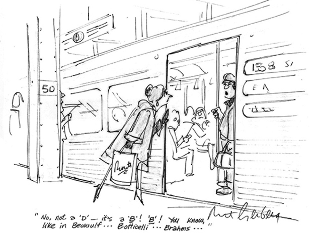 Cartoonist Mort Gerberg Brings 'A New Yorker's Perspective' To New-York Historical Society