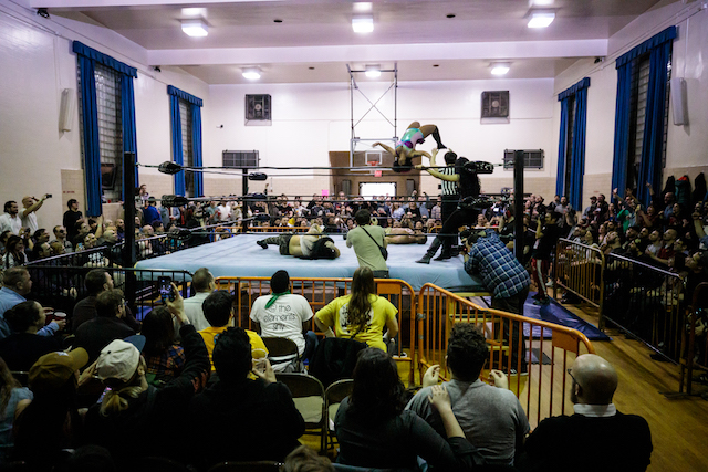 Photos: Experience The Bloodlust At Williamsburg's Outlaw Wrestling