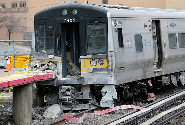 Vehicle Struck By LIRR Trains May Have Been Fleeing Earlier Crash, Witness Tells Police