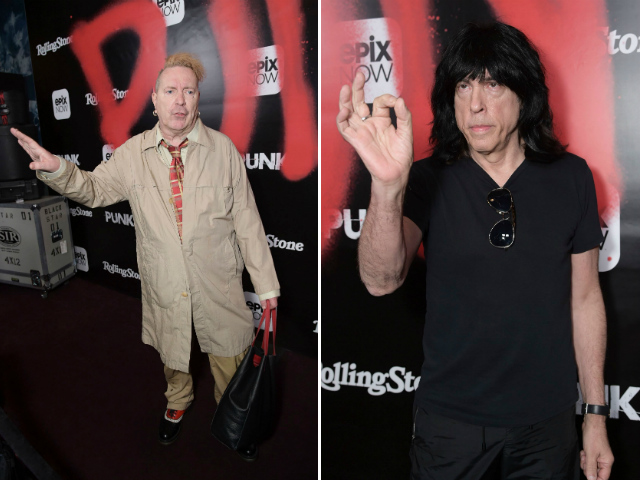 Johnny Rotten & Marky Ramone Get Into Hilarious Punk Argument At 'Punk' Doc Panel