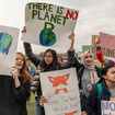 Liveblog: Students Go On Strike To Demand Action On Climate Change
