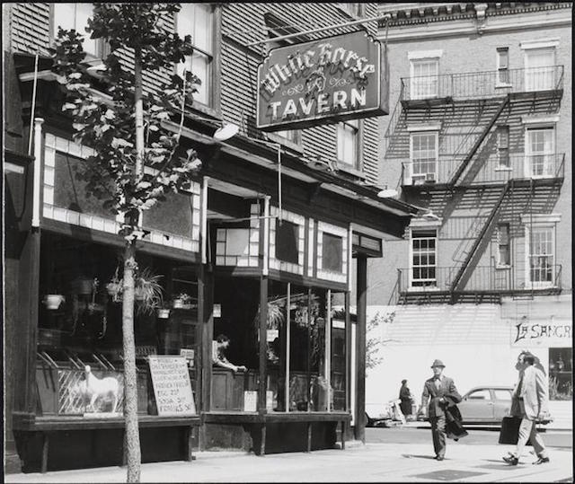 A Brief History Of The White Horse Tavern, NYC's Legendary Literary Watering Hole