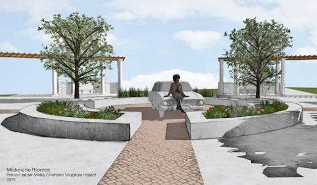 Here Are The 5 Proposals For Shirley Chisholm's Upcoming NYC Monument