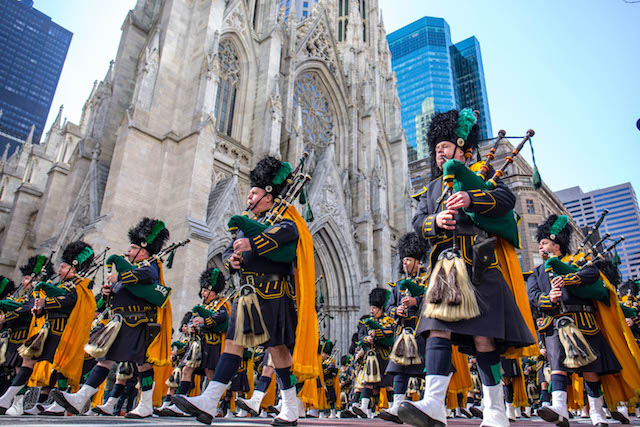 Photos: Annual St. Patrick's Day Parade Packs Fifth Avenue Once Again