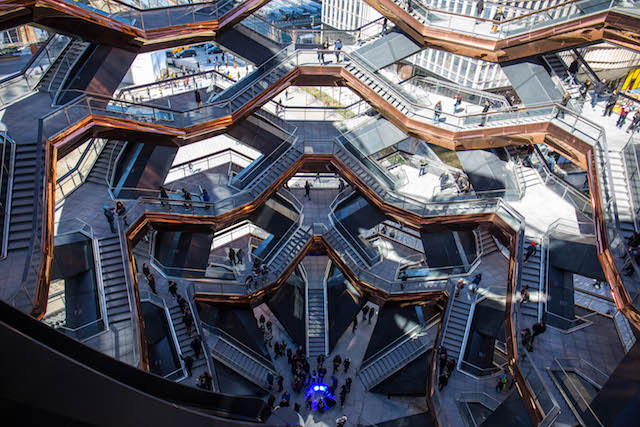 Photos: Thousands Climb Hudson Yards' Vessel On Opening Weekend