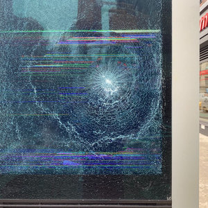 Photos: Someone Smashed The Hell Out Of Dozens Of LinkNYC Kiosks