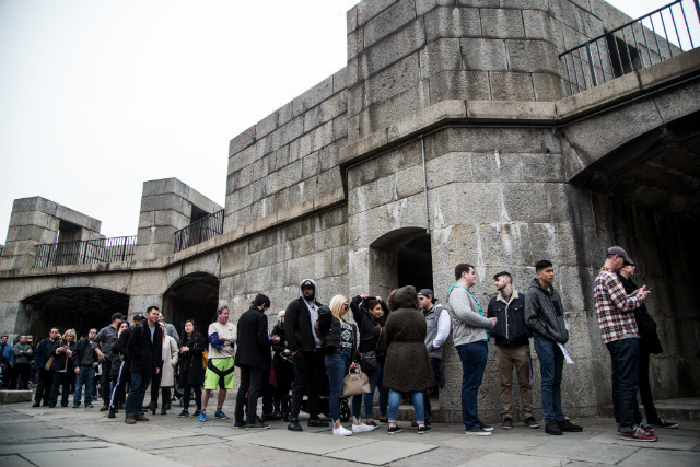 'Game Of Thrones' Fans Had To Wait Hours To Sit On Iron Throne In Queens