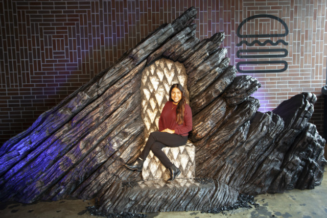 [Update] 'Game Of Thrones' Fans Can Sit On The Dragonstone Throne At West Village Shake Shack Today Only